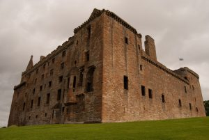 Linlithgow Palace on a Cloudy Day